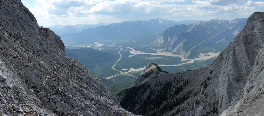 The Athabasca River Valley