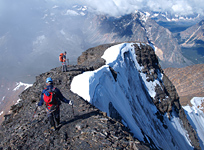 Completing the Summit Traverse on Mt. Edith Cavell